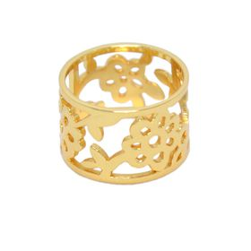 Almond Blossom Ring - Yellow Gold