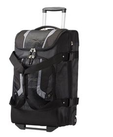 High Sierra Sportive Freel 2 Backpack/Wheeled with Removable Backpack - Black