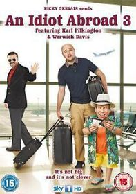 An Idiot Abroad - Series 3 (DVD)