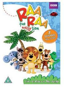 Raa Raa The Noisy Lion - Lots Of Raas In The Jungle (DVD)