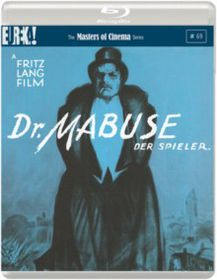 Dr Mabuse Der Spieler (Import Blu-ray)
