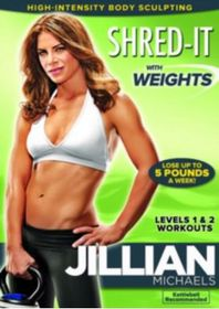 Jillian Michaels - Shred It With Weights (DVD)