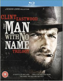 Man With No Name - A Fistful Of Dollars / For A Few Dollars More / The Good, The Bad And The Ugly (Blu-Ray)