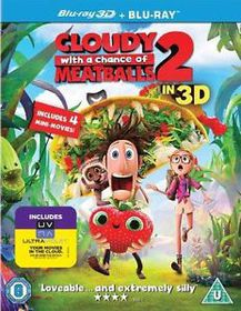 Cloudy With A Chance Of Meatballs 2 (3D Ultraviolet) (Blu-ray)