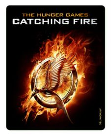 Hunger Games: Catching Fire - Limited Edition Triple Play Steelbook (Blu-ray + DVD)