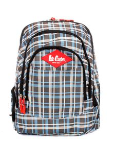 Lee Cooper Backpack - Blue Brown
