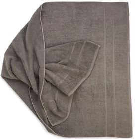 Terry Lustre - Hand Towel - Grey