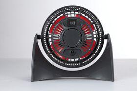 Goldair - 10cm USB Fan - Black