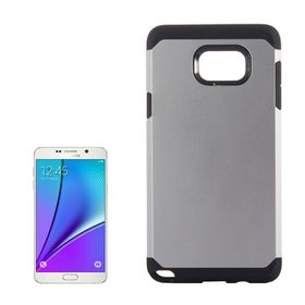 Tuff-Luv TPU Armour Case for Samsung Galaxy Note 5 - Silver