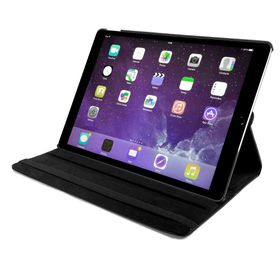 "Tuff-Luv Rotating Sleep Case for iPad Pro 12.9"" - Black"