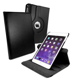 Tuff-Luv Rotating Sleep Case for iPad Mini 4 - Black