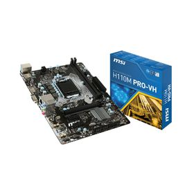 MSI Intel H110M Pro VD Motherboard - Socket 1151