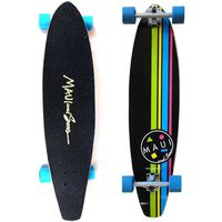 Maui And Sons Cookie Stripe Kicktail Longboard