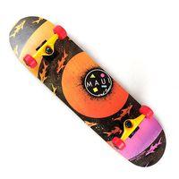 Maui And Sons Sharknado Skateboard - Orange