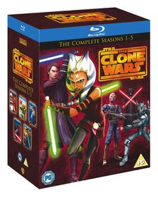 Star Wars - The Clone Wars: Seasons 1-5 (Parallel Import)