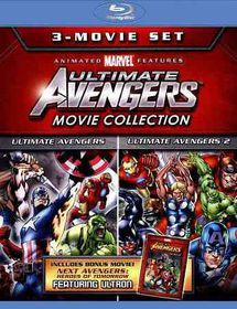 Ultimate Avengers 3 Move Collection - (Region A Import Blu-ray Disc)
