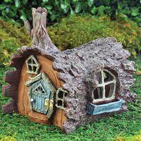 Miniature Fairy Gardens Log House Fairy Home