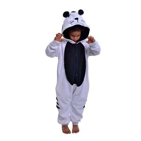 618e81bf6079 aFreaka - Kids White Tiger Onesie