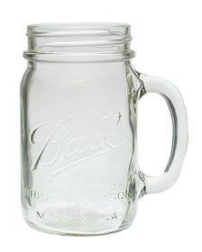 Ball - Wide Mouth Drinking Mason Jars - 700ml - 4 Pack