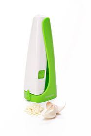 Progressive Kitchenware - Garlic Press - Green