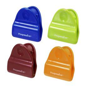 Progressive Kitchenware - Set Of 4 Bag Clips - Red
