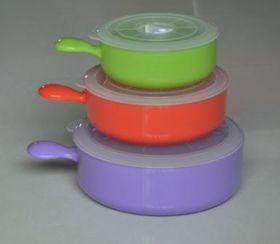 Progressive Kitchenware - 3 Piece Micro Bowl Set - Purple