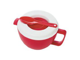 Progressive Kitchenware - Micro Oatmeal Bowl - Red