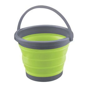 Floormax - Collapsible Bucket - Green and Grey