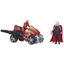 Avengers Delux Figures - Thor & Iron Man