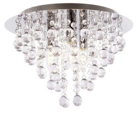 Bright Star - Chrome Ceiling Fitting