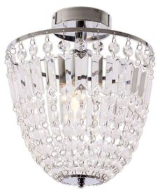 Bright Star - Ceiling Fitting - Silver