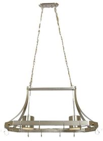 Bright Star - Satin Chrome Chandelier