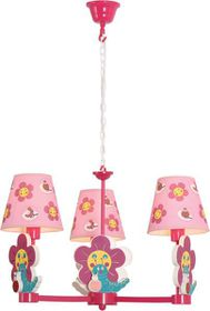 Bright Star - Chandelier - Pink
