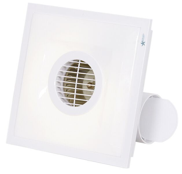 Bathroom Extractor Fan bright star lighting bright star - square bathroom extractor fan
