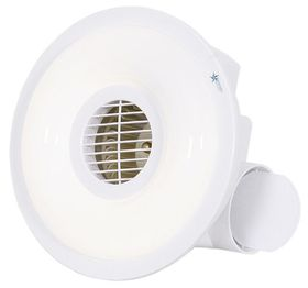 Bright Star - Bathroom Ceiling Extractor Fan - White