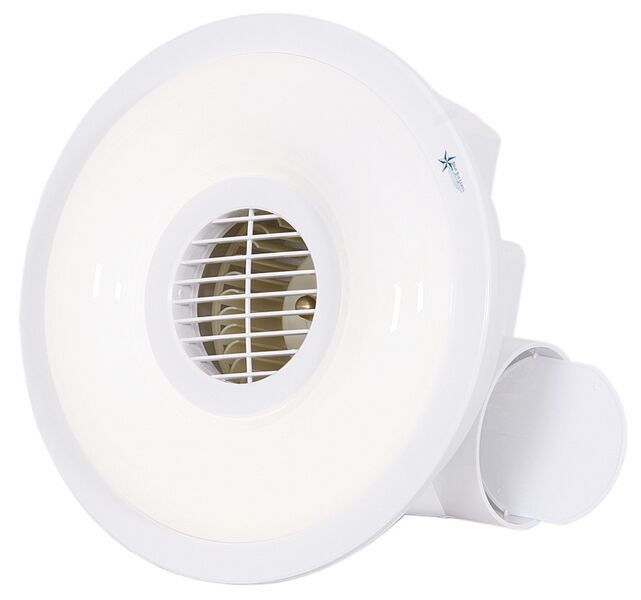 Bright star lighting bathroom ceiling extractor fan - Bathroom ceiling extractor fan with light ...
