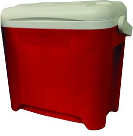 LeisureQuip - 26 Litre Hard Body Coolerbox - Red