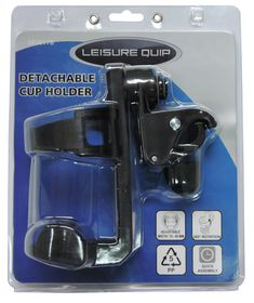 LeisureQuip - Detachable Drinks Holder - Black