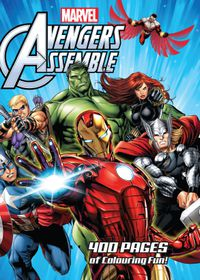 Marvel Avengers Assemble 400 Page Gigantic Colouring Book