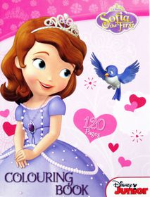 Disney Junior Sofia The First 120 Page Colouring Book