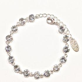 Civetta Spark bracelet - made with Blue Shade Swarovski crystal