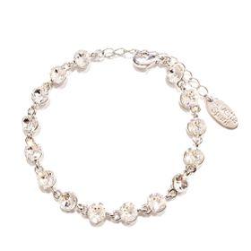 Civetta Spark bracelet with Clear Swarovski Crystal