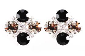 Civetta Spark XOXO Earring - Made with Swarovski Crystal