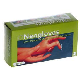 Neoglove - Latex Powdered Non-Sterile Small