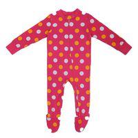 BabyBug Girls Easy Zipper Onesie - Pulkadot (Size: 12 - 18 months)