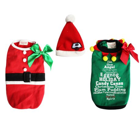 ade00af5e89d5 Dogs Life - 3-In-1 Santa and Elf Super Combo - Extra-Large