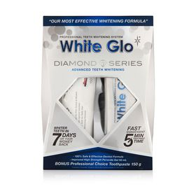 White Glo Diamond Whitening Kit
