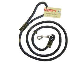 Kunduchi -  Comfort Clip Lead - Black - 1.6m