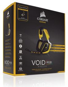 Corsair - Gaming Void Wireless Headset - Yellow (PC)
