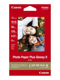 Canon PP-201 4x6 275gsm Plus Glossy Photo Paper (50 Sheets)